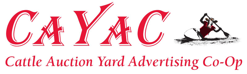 CAYAC Logo: Cattle Auction Yard Advertising Co-Op