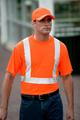 CornerStone Ansi Compliant Safety T-Shirt With Pocket