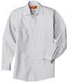 CornerStone Long Sleeve Stripe Work Shirt