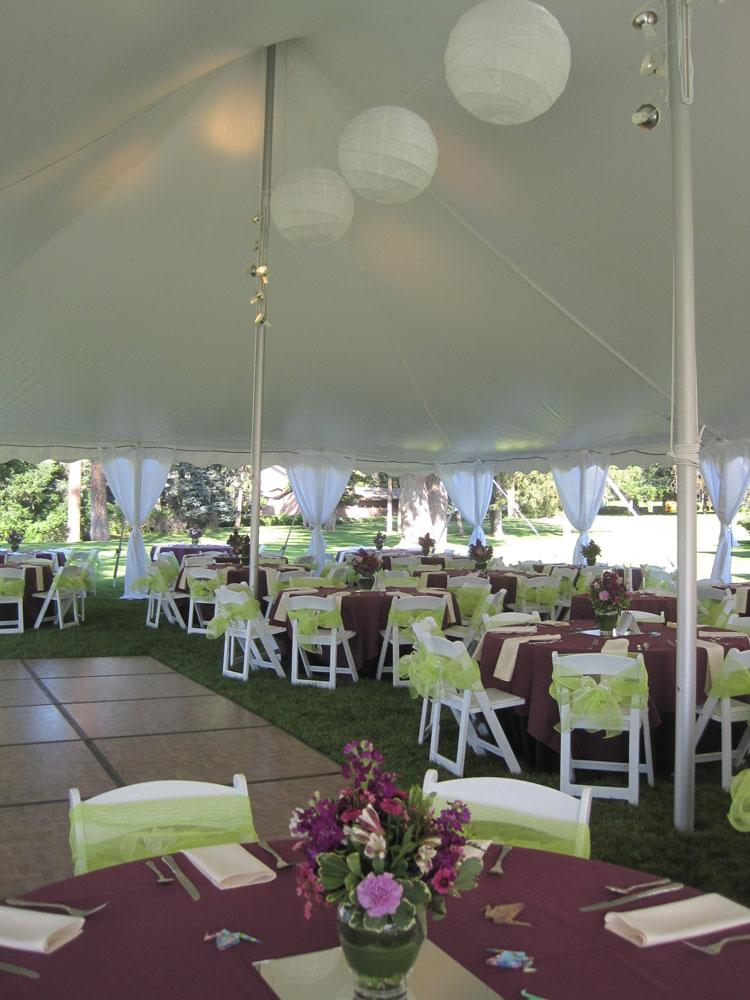 40u0027x60u0027 Pole Tent & Pole Tents - Spokane Event Rents Party And Event Rentals - The ...