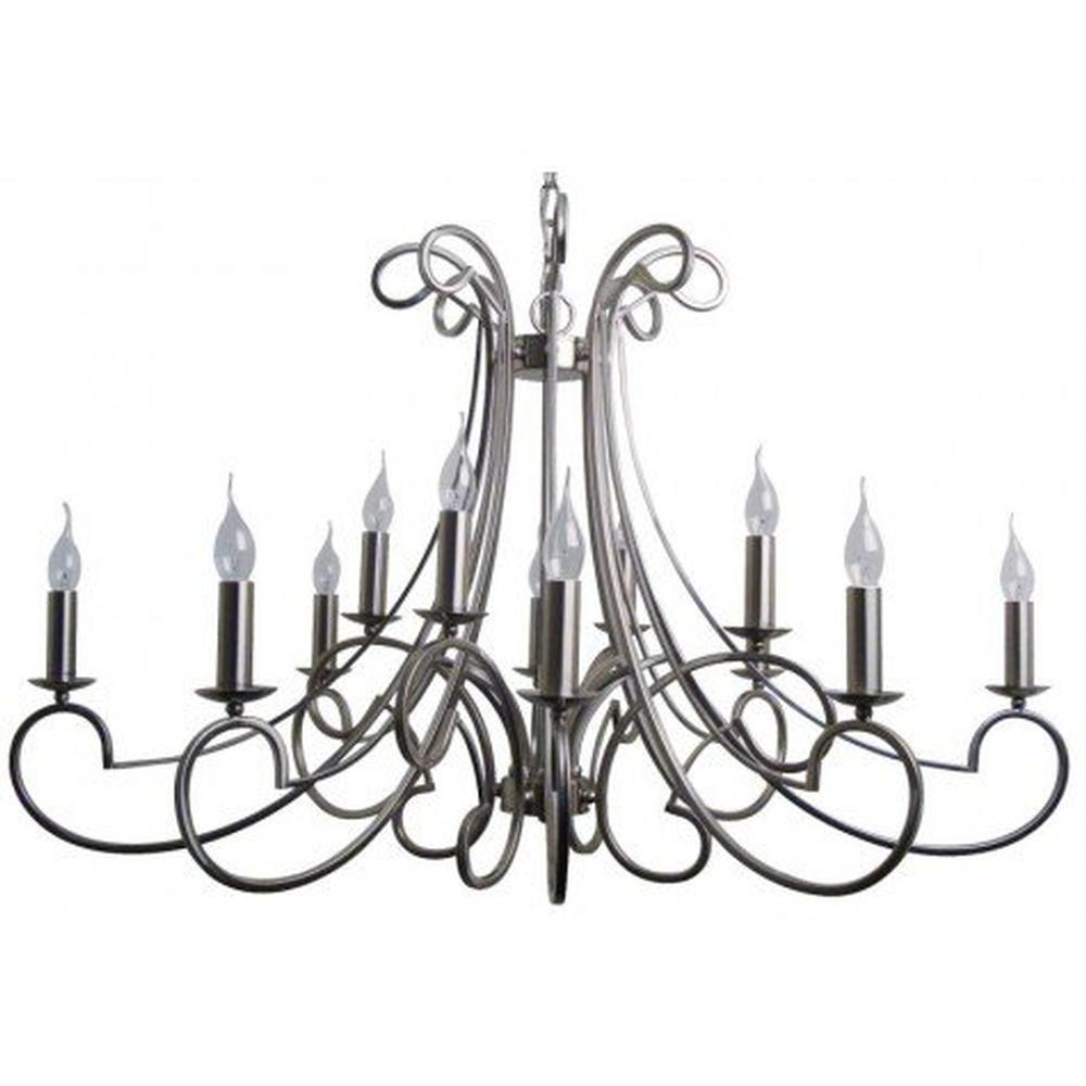 Chantelle Brushed Nickel Chandelier  sc 1 st  Event Rents & Lighting - Spokane Event Rents Party And Event Rentals - The Inland ...