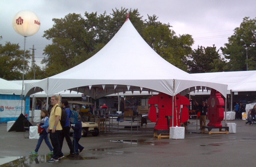 Marquee Tent with Concrete Ballasts & Marquee Tents - Spokane Event Rents Party And Event Rentals - The ...