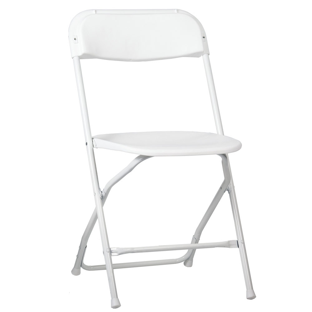 White plastic folding chairs - Coming In 2018 White Plastic Folding Chair 1 75 Ea