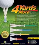 GreenKeepers 4 Yards More (Variety Pack) Golf Tees Pack