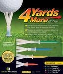 GreenKeepers 4 Yards More (Variety Pack) Golf Tees Pack