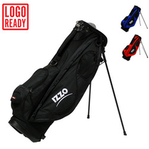 IZZO Golf Black Neo Stand Bag - (Full Length Dividers)