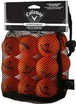 Callaway Golf HX Soft Flight Orange Practice Balls - (18 Pack -Orange)