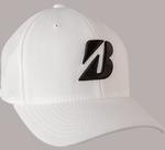 Bridgestone Golf Tour Water Repel Golf Cap-White