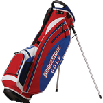 Bridgestone Golf Lightweight (Red-White-Blue) Stand Bag