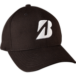 Bridgestone Golf Tour Water Repel Golf Cap- (Black)