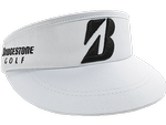 Bridgestone Golf Tour High Crown Visor - White