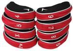 Callaway Golf Premium Red Iron Headcovers (4-PW,  X)