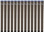 Winn Grips DriTac Wrap Dark Gray Midsize Golf Grips- (6DTWR-DG)  (Set of 13 Golf Grips)