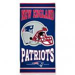 NFL New England Patriots - Fiber Beach Towel (Dimensions 30 x 60)