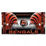 NFL Cincinnati Bengals - Fiber Beach Towel (Dimensions 30 x 60)