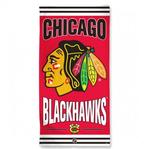 NHL Chicago Blackhawks - Fiber Beach Towel (Dimensions 30 x 60)