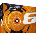 Bridgestone Golf 3 Dozen E6 White Golf Balls