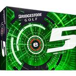 Bridgestone Golf e5 Golf Balls - 1 Dozen - White