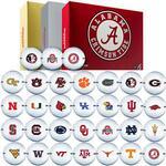 NCAA 1 Dozen Golf Balls (Bridgestone e6 Golf Balls)