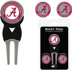 NCAA Signature 3 Marker & Divot Tool Set (More than 60 NCAA Teams Available)