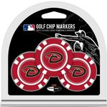 MLB 3 Pack Golf Chips (All 30 Teams Available)
