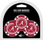 NCAA 3 Pack Golf Chips (More than 50 Teams Available)
