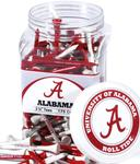 NCAA 175 Count Golf Tee Jar (Regulation 2-3/4' Tees) (More than 50 Teams Available)