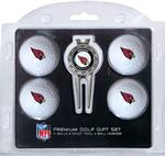 NFL 4 Ball & Divot Tool Premium Golf Gift Set (All Teams Available)
