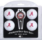 NCAA 4 Ball & Divot Tool Premium Golf Gift Set (More than 70 Available Teams)