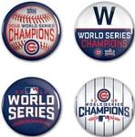 MLB World Series 2016 Chicago Cubs Button 4 Pack