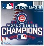 MLB World Series 2016 Chicago Cubs 4.5 x 6 Die Cut Magnet