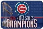 MLB World Series 2016 Chicago Cubs 20 x 30 Welcome Mat