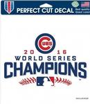 MLB World Series 2016 Chicago Cubs 8 x 8 Perfect Cut Decal