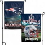 NFL New England Patriots 2017 Super Bowl Championship Garden Flag
