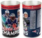 NFL New England Patriots 2017 Super Bowl Championship Wastebasket