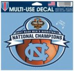 NCAA North Carolina Tar Heels 2017 Final Four Multi Use Decal 4.5 x 5.75