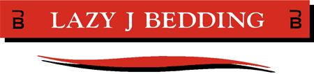 Lazy J Bedding Logo