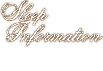 Sleep Information
