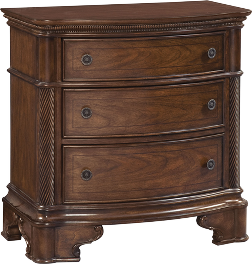 A.R.T. 168140-1930 Three Drawer Nightstand - Northwest Bedding Company