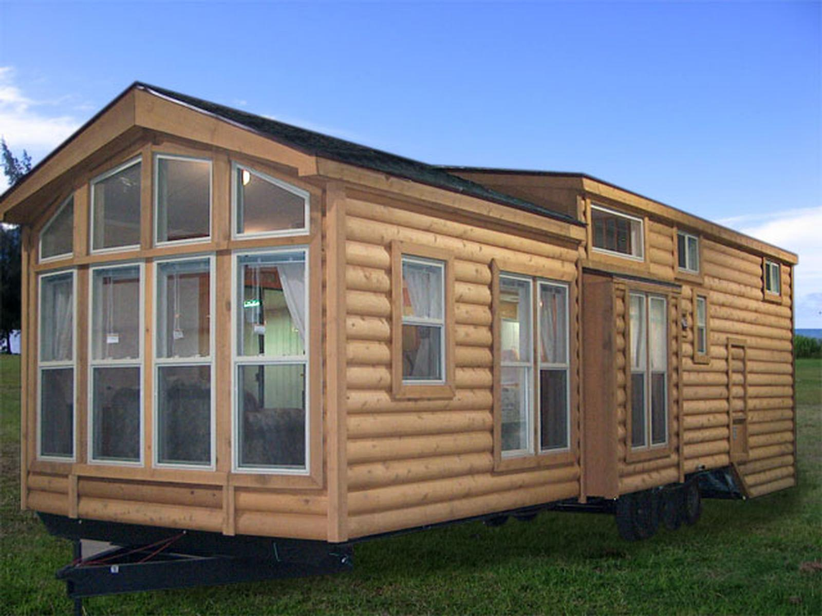Heritage lodge cabin park models the finest quality for Different models of houses