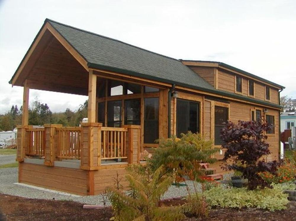 Cavco cabin park model homes from 21 000 the finest for Homes models and plans