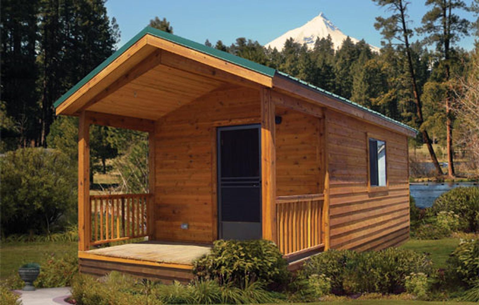 Cavco bare bones cabin park models the finest quality for Cabin model homes