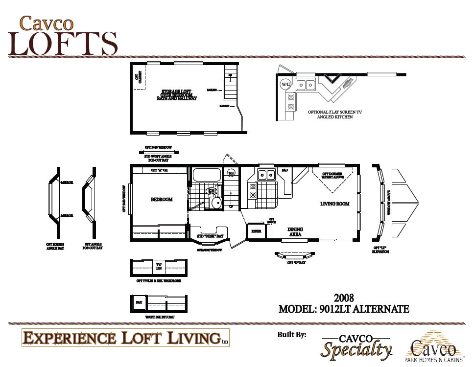 Cavco Loft Units - Park Models - The Finest Quality Park Models And on 2007 flagstaff floor plans, 2007 rockwood floor plans, 2007 airstream floor plans, 2007 weekend warrior floor plans, 2007 cavalier floor plans, 2007 dutchmen floor plans, 2007 fleetwood floor plans, 2007 montana floor plans, 2007 clayton floor plans, 2007 forest river floor plans, 2007 sandpiper floor plans, 2007 jayco floor plans, 2007 breckenridge floor plans, 2007 keystone floor plans,