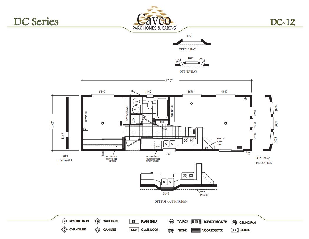 Cavco Dc Park Model Homes From 21 000 The Finest