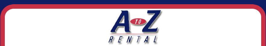 A To Z Rental