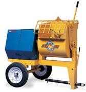 9 Cubic Foot Mortar Mixer Towable