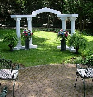 Wedding Colonnade A To Z Rental