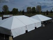 40x60 Keder tents with and without sides