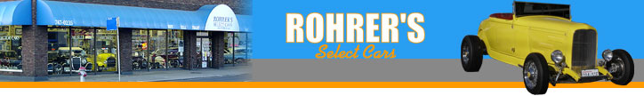 Rohrer's Select Cars