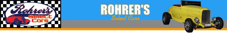Rohrer's Select Cars